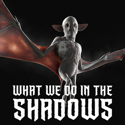 "Weirdo Bat - Early Concept Design for ""What We Do in the Shadows"" Tv series"