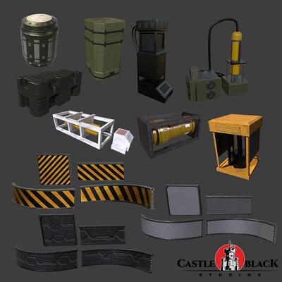 Castle black studios assets