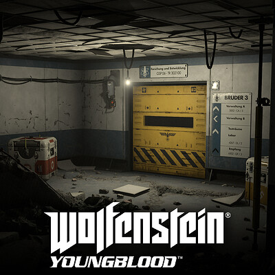 Wolfenstein Youngblood: Environments