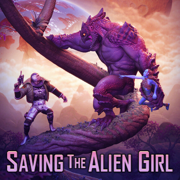Saving The Alien Girl