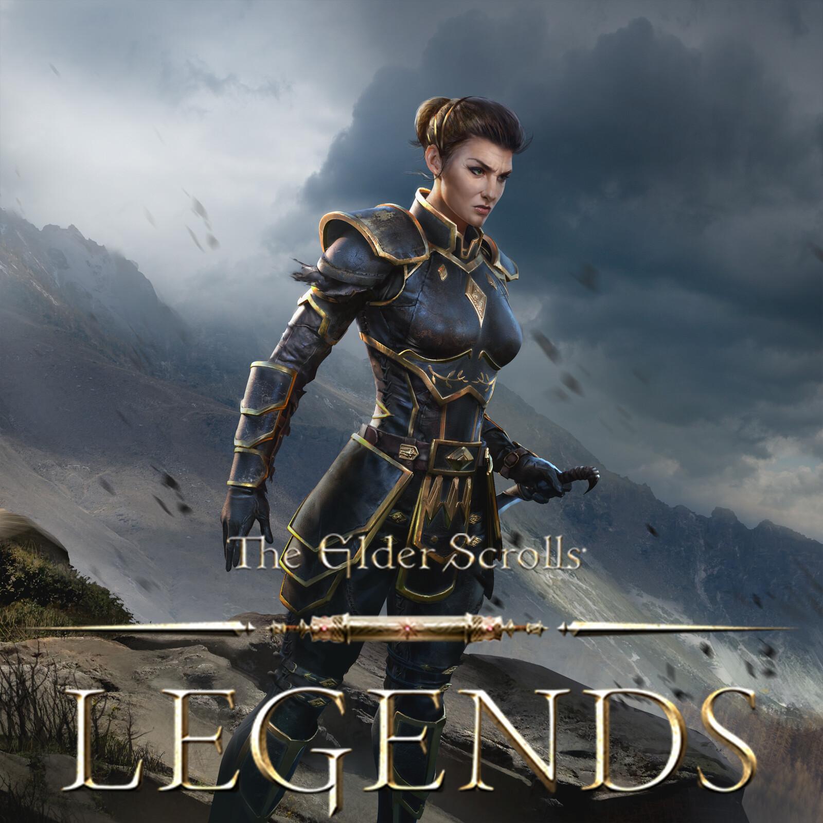 Blademaster Porcia - The Elder Scrolls: Legends
