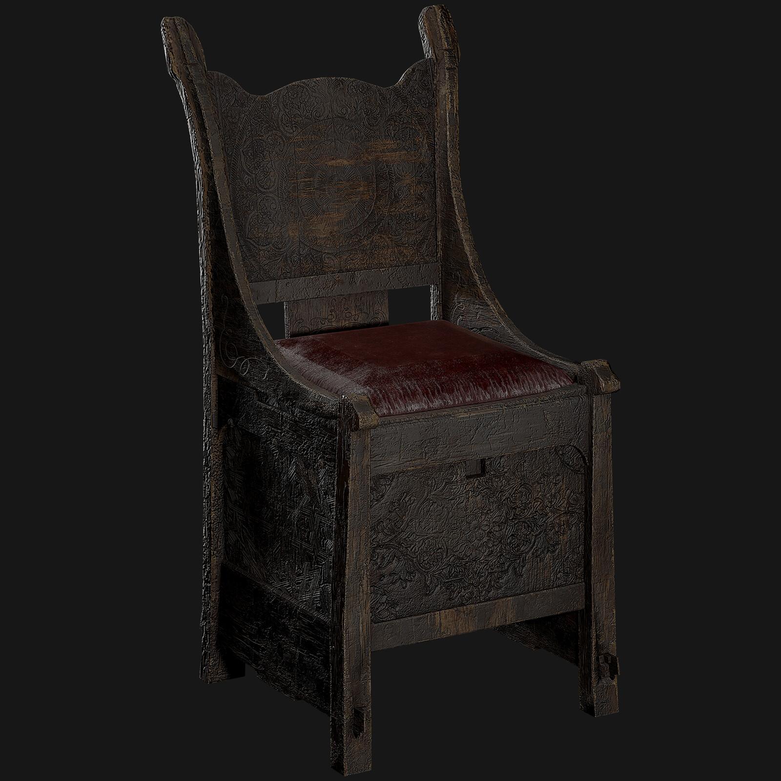 Norse Storage Chair