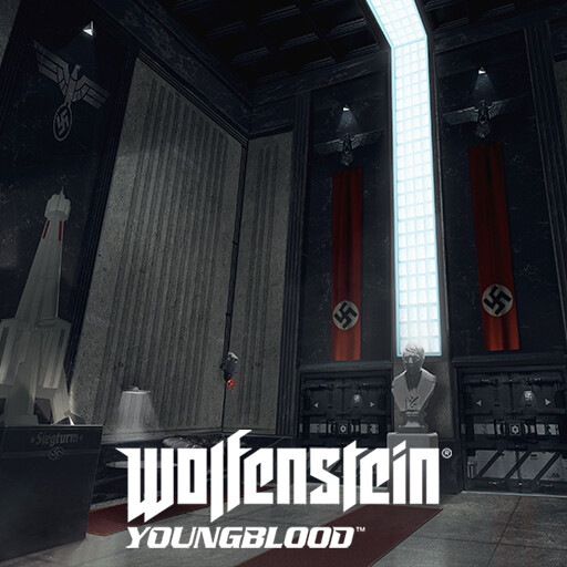 Wolfenstein Youngblood - Siegturm lobby