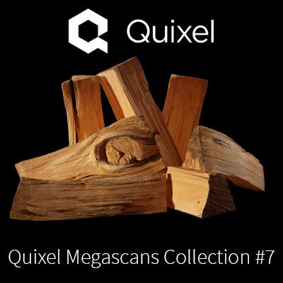 Quixel Megascans Firewood