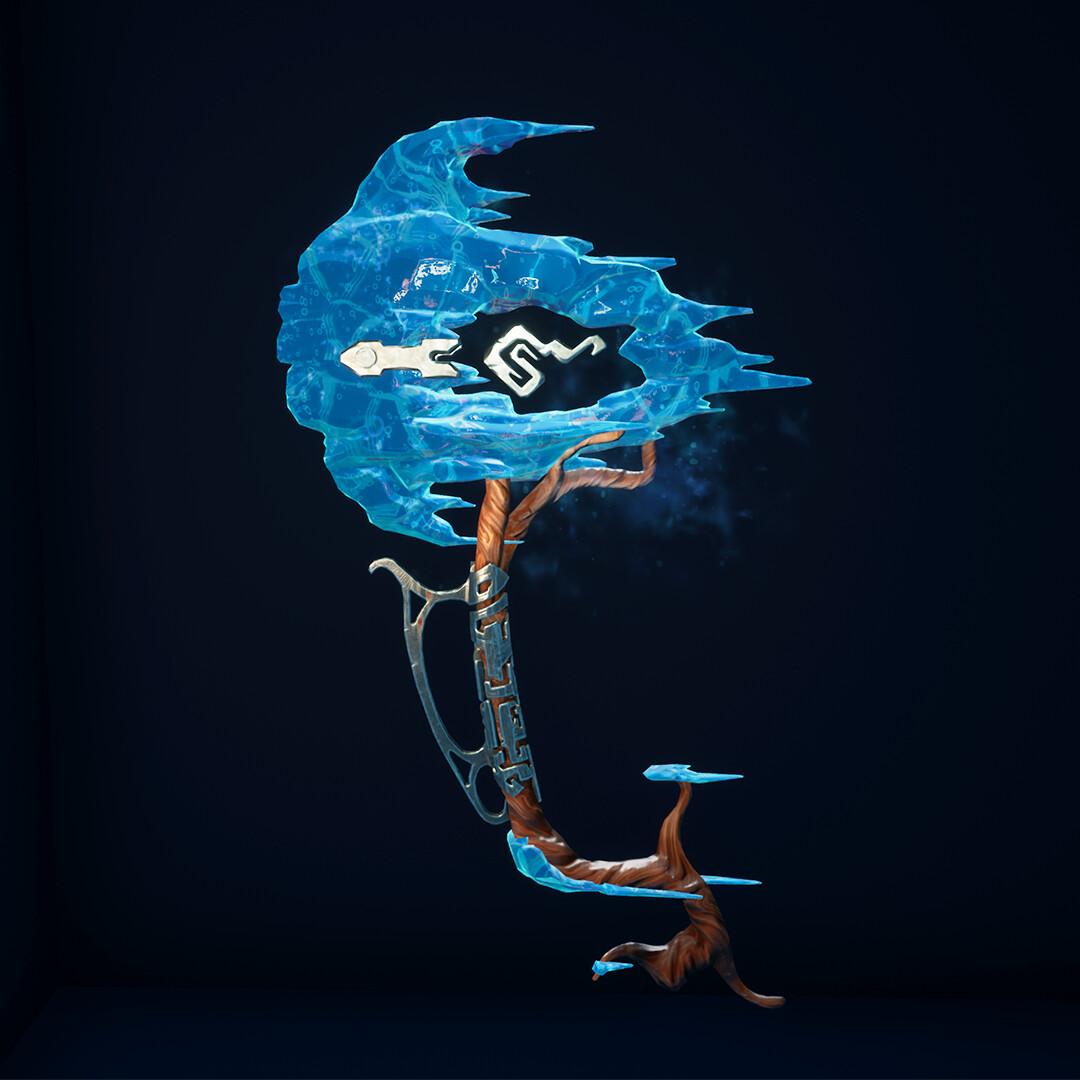 Frostwind - Stylized Fantasy Axe