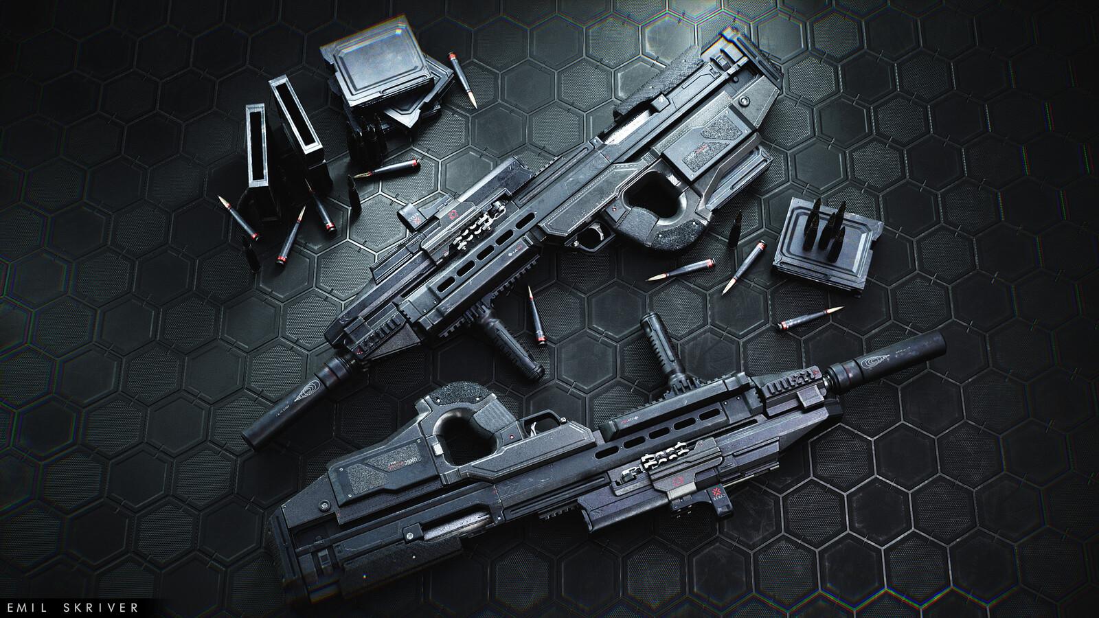 MA6-E Machine Gun