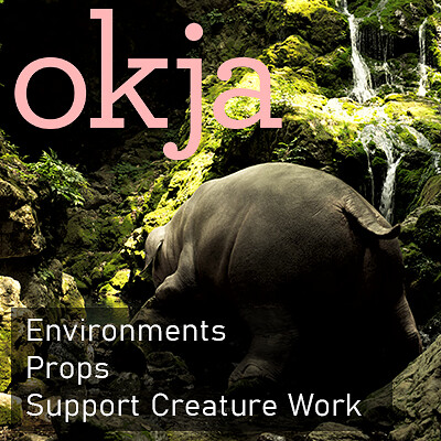 Okja - Model and Texture work