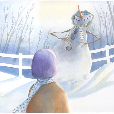 Bianca maria scrugli filastrocca del pupazzo di neve
