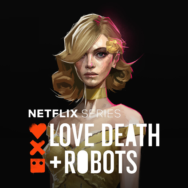 Love, Death+Robots: Sonnie's Edge - Jennifer Concept Art