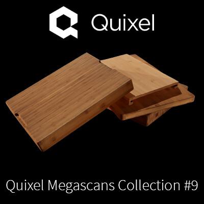 Quixel Megascans Cutting Boards