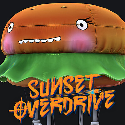 Burger Blimp -Sunset Overdrive