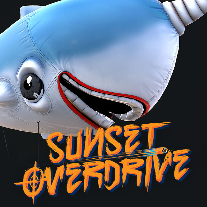 Whale Blimp -Sunset Overdrive