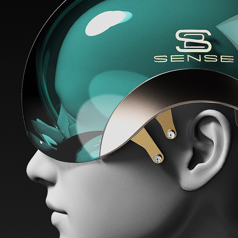 Sense2 headset design