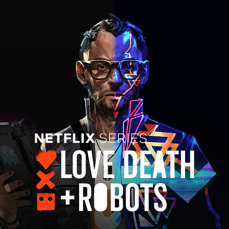 Love, Death+Robots: Sonnie's Edge - Wes Concept Art