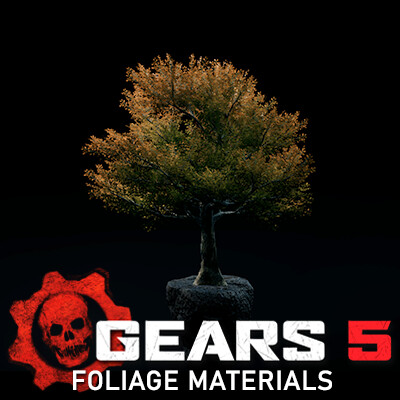 Gears 5 - Foliage Materials
