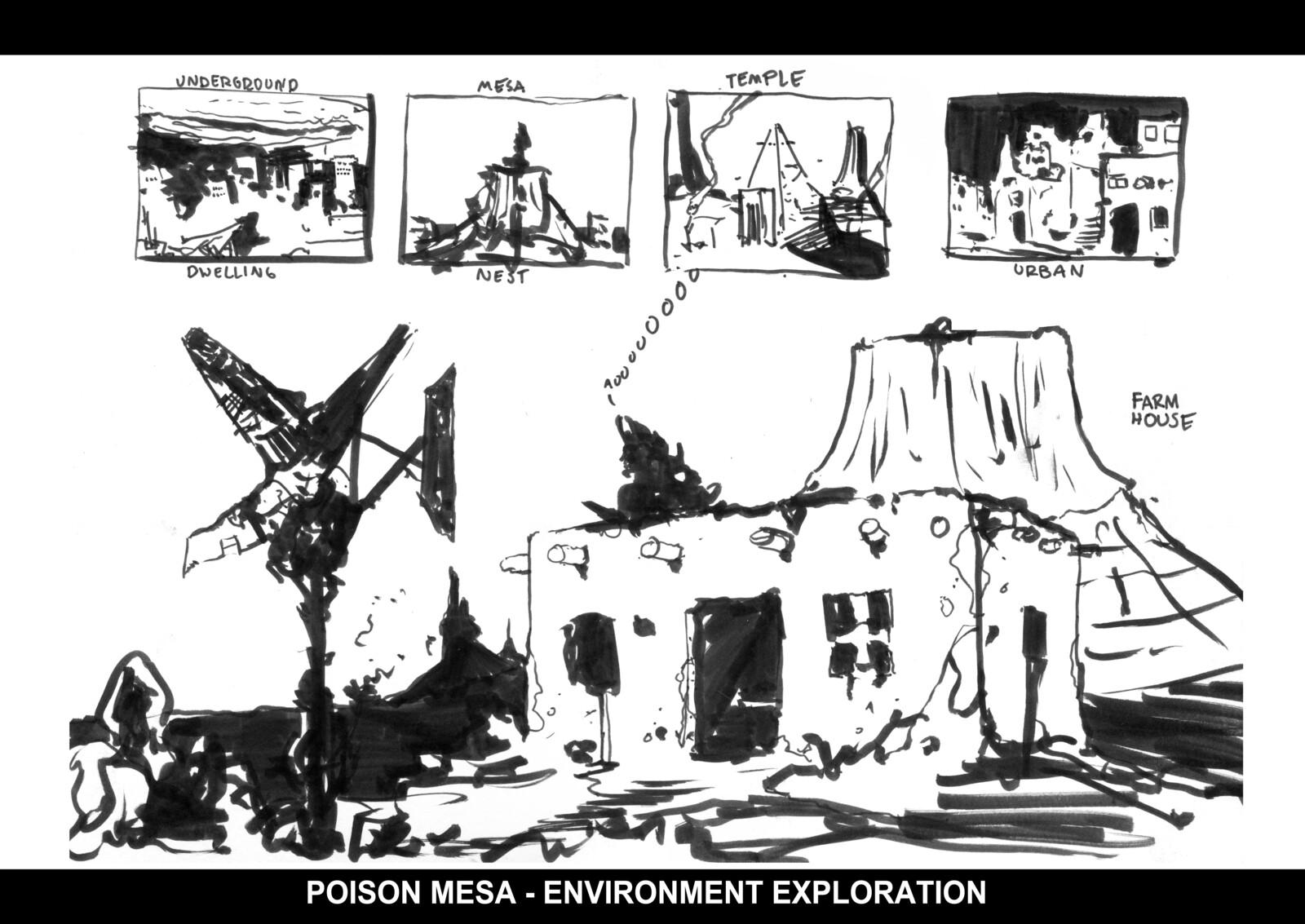 Poison Mesa Environment
