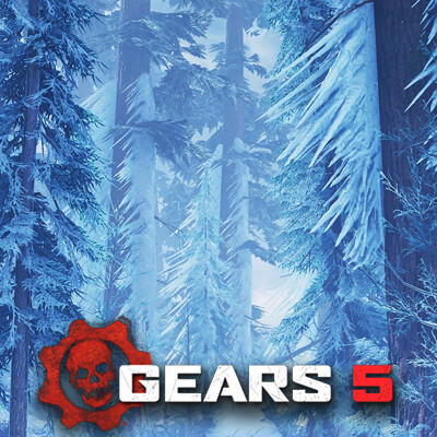 Gears 5 - Advection Ice and Frozen Vegetation Shaders