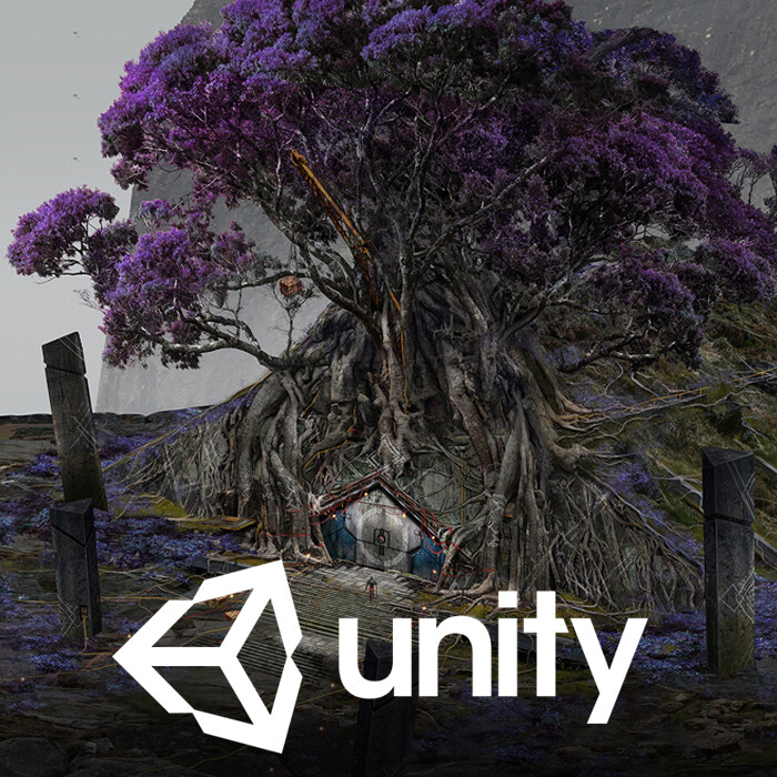 Unity Icon Project - Ep.1 Yggdrasil - Environments 2