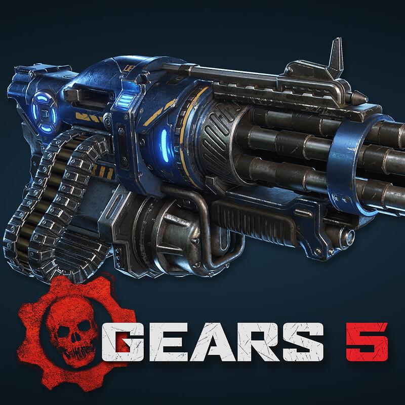 Gears 5 - Megamech Gatling Gun