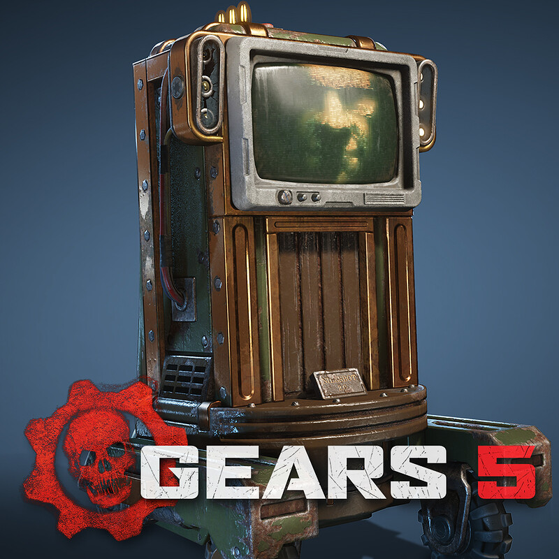 Gears 5 - Assorted Props - Textures only