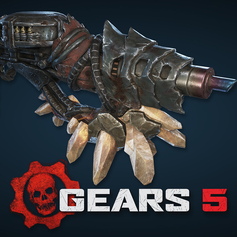 Gears 5 - Swarm Weapons