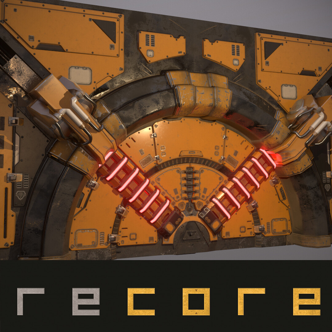 Recore - Over World Armored Door