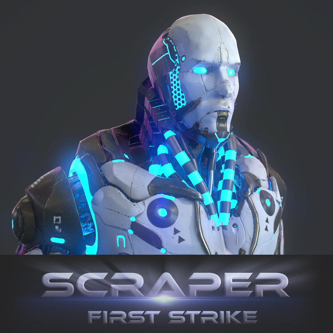 Scraper First Strike - Male Humech