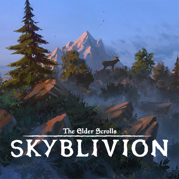 Skyblivion - First light on the colovian highlands