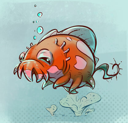 Squiggles the Sea Pig