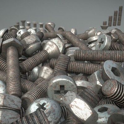 Dennis haupt 1 rusty nuts and bolts by 3dhaupt 3