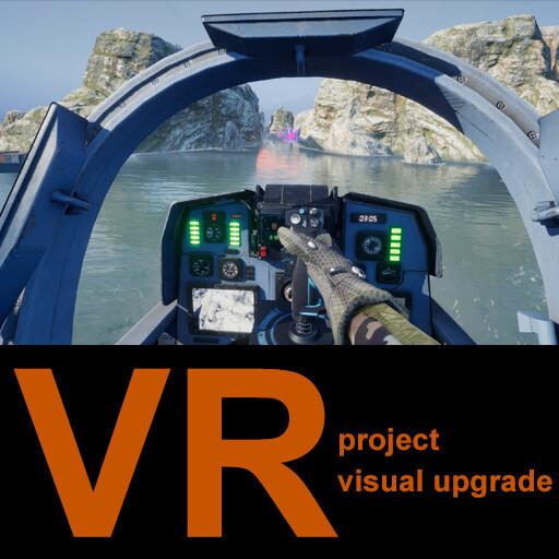 VR flight-simulator project visual upgrade