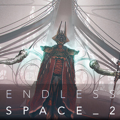 Endless Space 2 - Nakalim throne room.