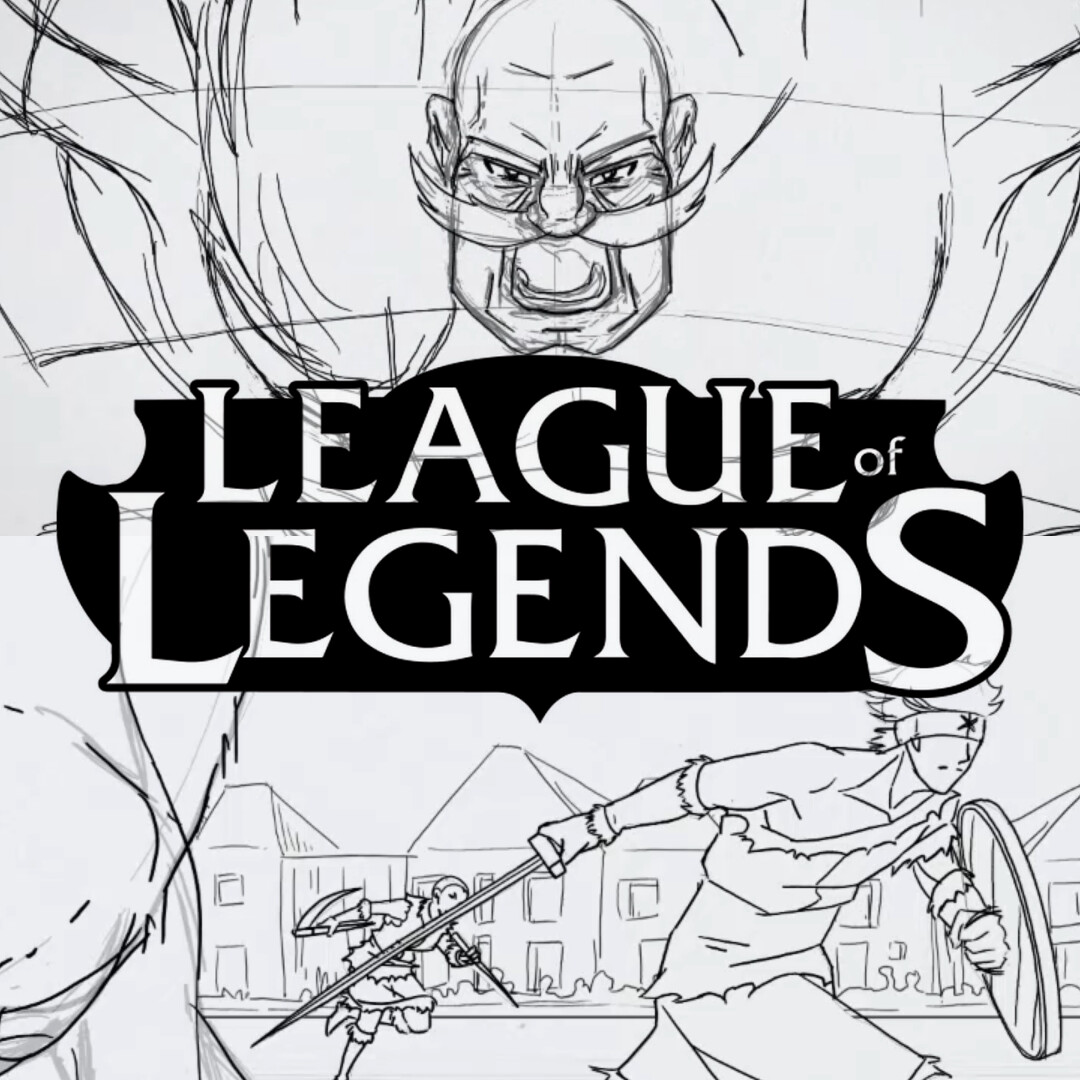 league of legends Animations