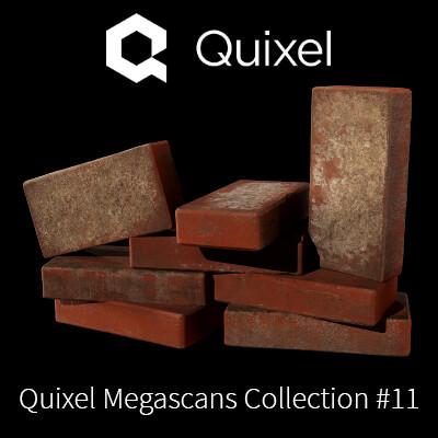 Quixel Megascans Bricks