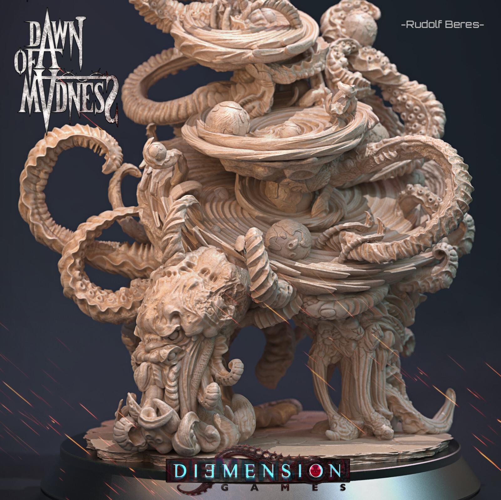 Dawn of Madness Statue Azathoth