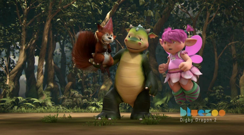 TV Animation Reel: Digby Dragon 2