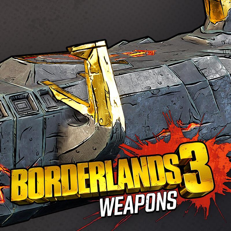 Borderlands 3: Weapons