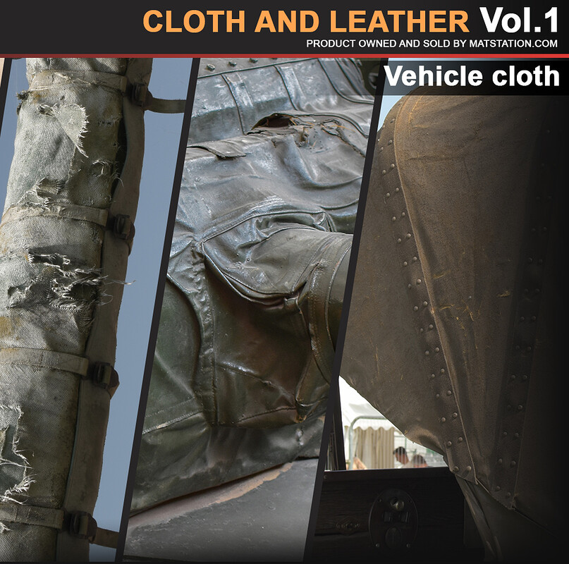 Photo Pack - Cloth and Leather - Vol.1