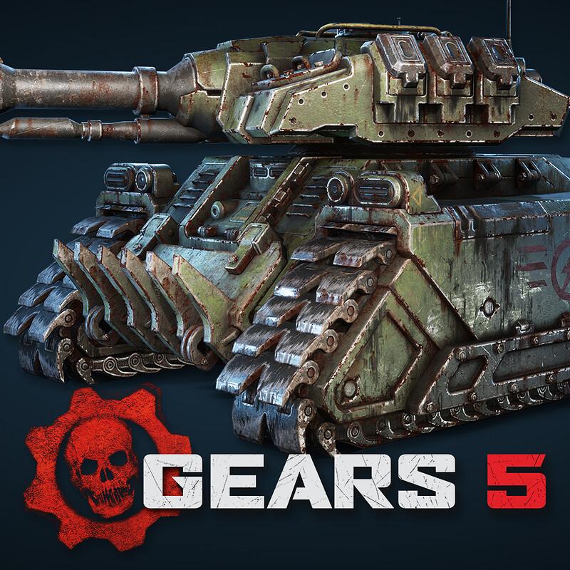 Gears 5 - UIR Tank