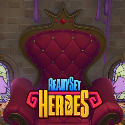 ReadySet Heroes - Slime Bo Throne