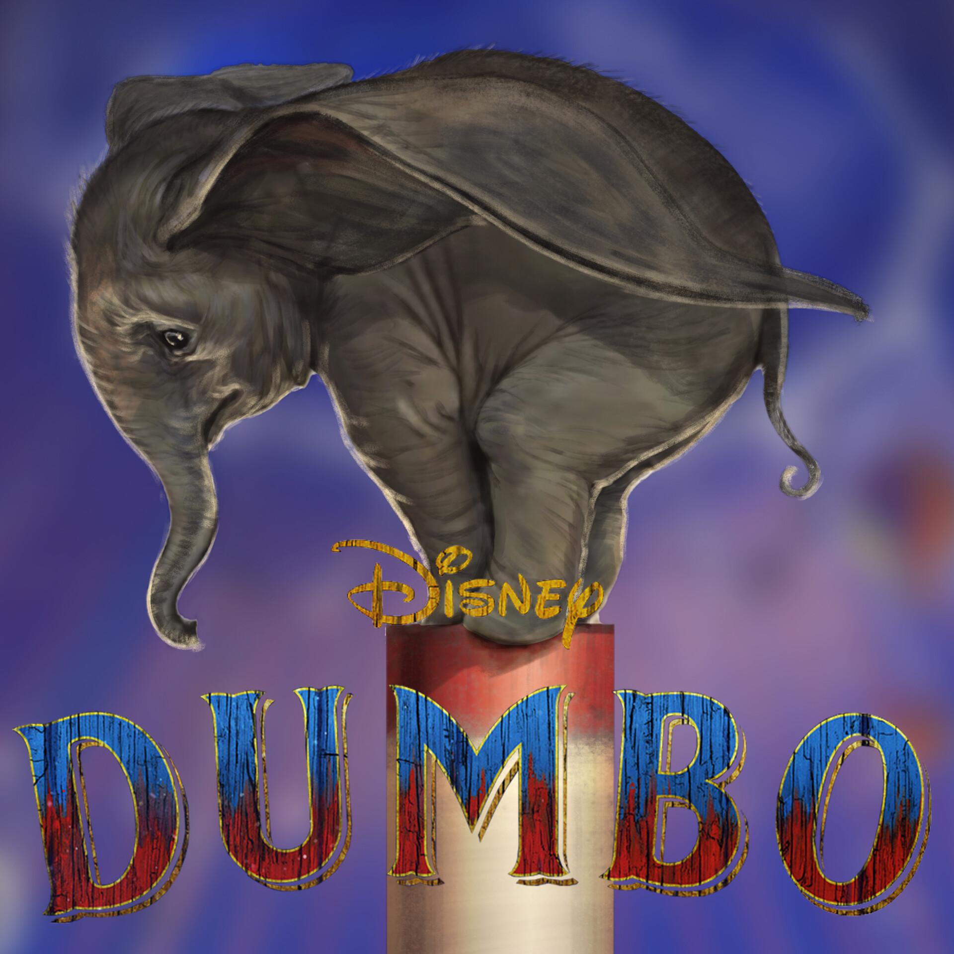 Artstation Dumbo 2019 Disney Karl Lindberg