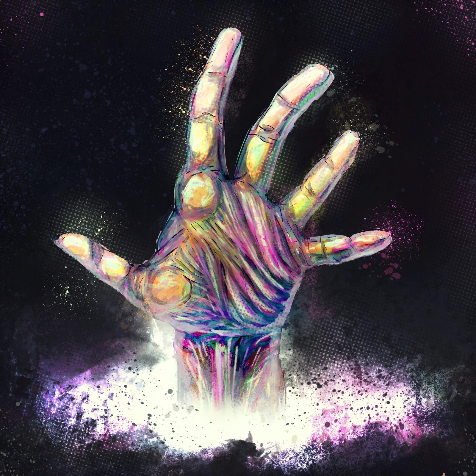 Elemental Hand Nr. 3 - Neon