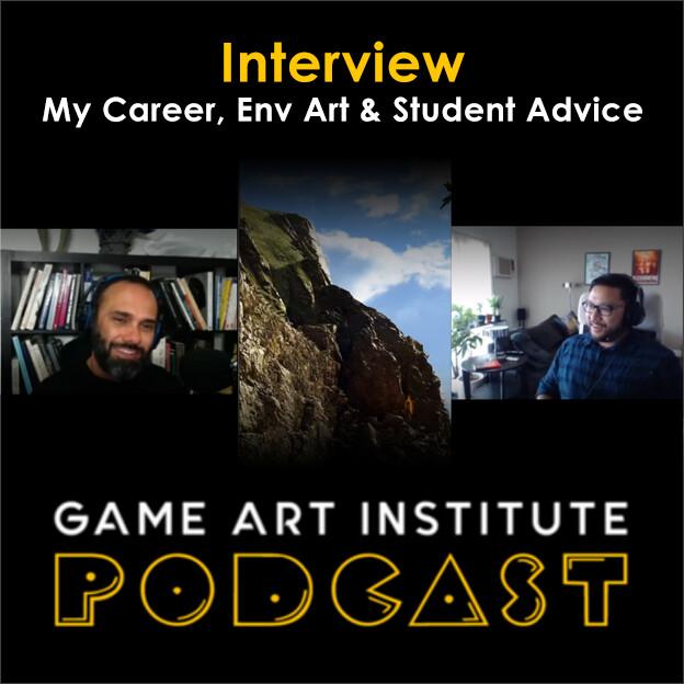 Game Artist Podcast Interview w/Ryan Kingslien