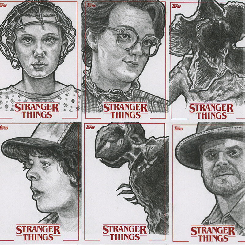 Topps Stranger Things Season One