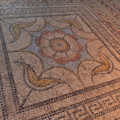 Roman Mosaic Floor - Substance Designer Material