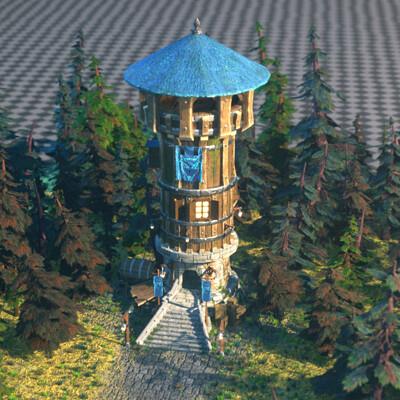 Roman boichuk tower 1