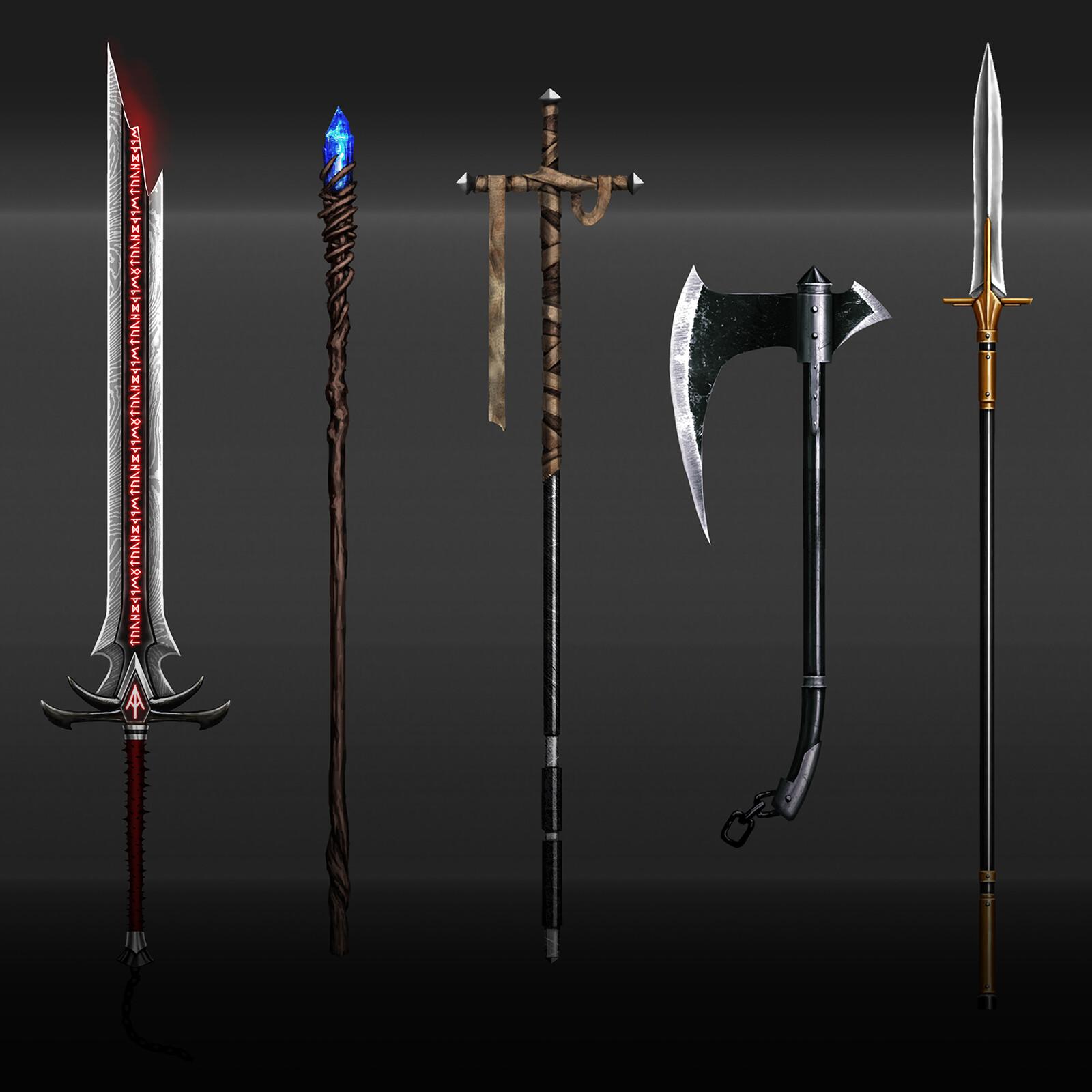 King Arthur - Arms