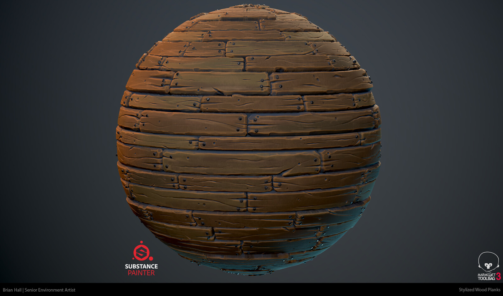 Stylized Wood Planks