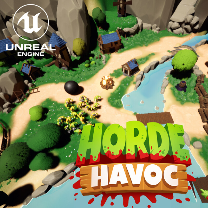 Horde Havoc - Environment Art