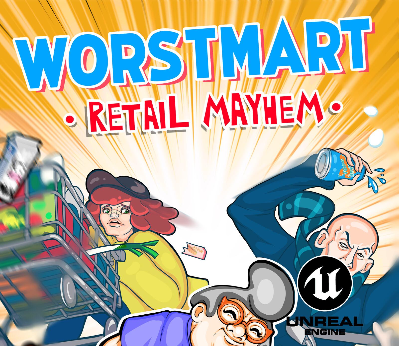 Worstmart: Retail Mayhem VFX